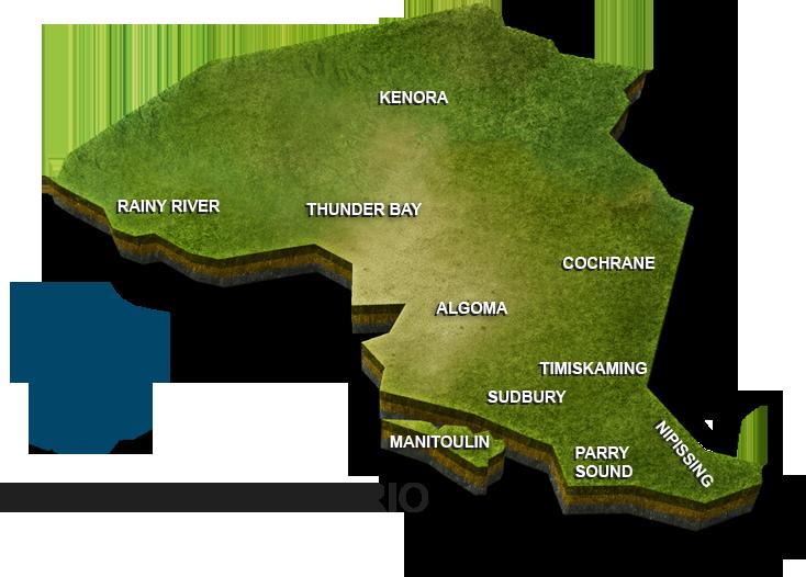 DATABID COVERAGE AREA MAP CANADA